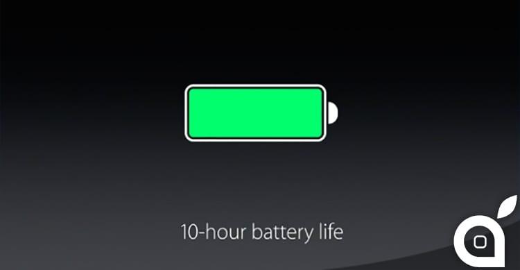 batteria ipad pro