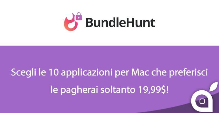 BundleHunt: Scegli 10 applicazioni per Mac tra 30, le pagherai soltanto 19,99$ e ti verranno restituiti 5$
