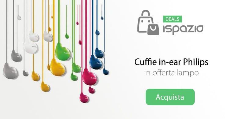 cuffie philips deals ispazio