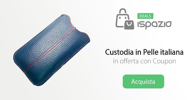 Recensione Custodia EASY di Record Moda: fatte a mano, in vera pelle italiana, in offerta con iSpazio