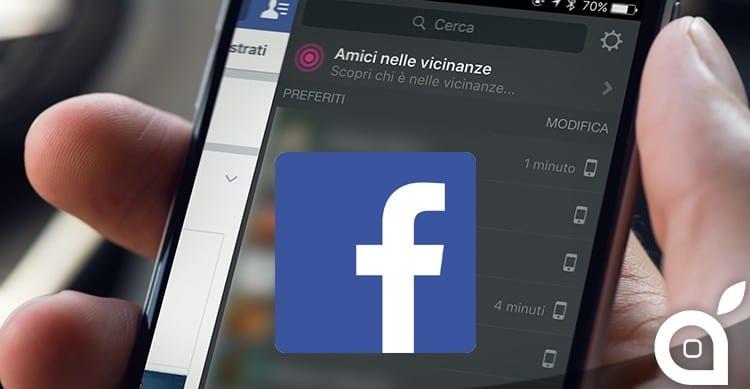 facebook amici nelle vicinanze