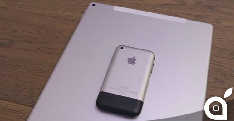 ipad pro first iphone