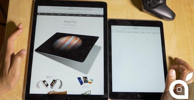 iPad Pro fornisce una sorprendente navigazione in Safari grazie ai 4 GB di RAM [Video]