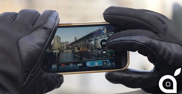Apple permetterà di utilizzare il touchscreen anche quando stiamo indossando i guanti