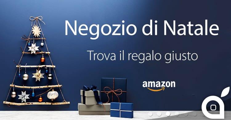 """Amazon apre il """"Negozio di Natale"""" con sezioni dedicate ai regali, gli addobbi e tanto altro"""