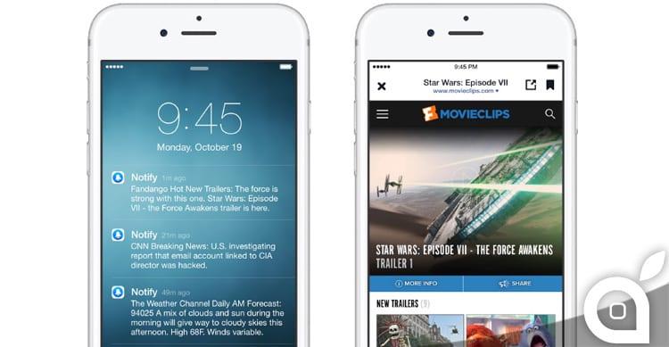 Facebook rilascia Notify, la nuova app per le notifiche su iOS, ma solo in inglese [Video]