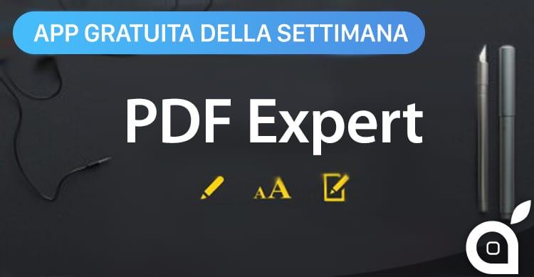 pdf expert app della settimana