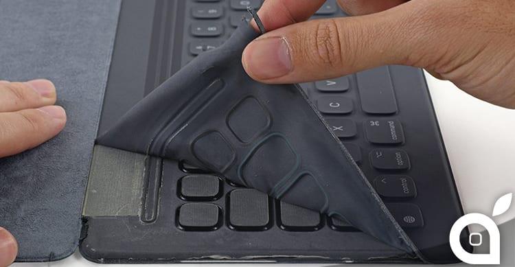 Teardown della Smart Keyboard di Apple per iPad Pro: impossibile da riparare