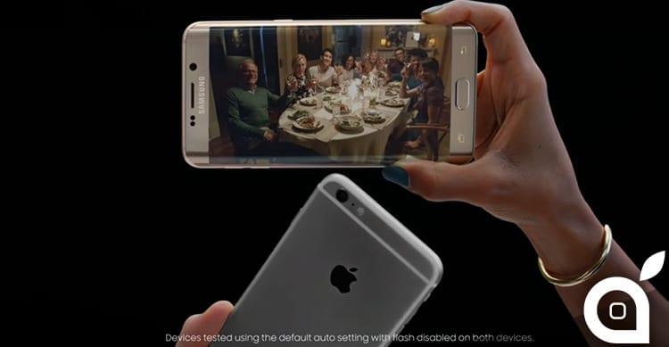 Ancora un confronto con iPhone nel nuovo spot di Samsung dedicato alla fotocamera dei Galaxy [Video]