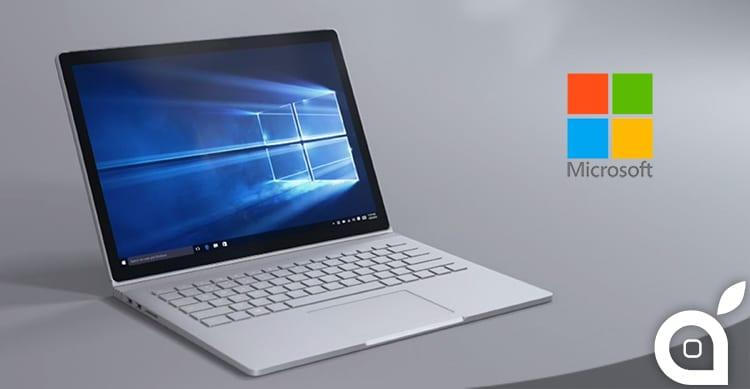 """Per Tim Cook il Surface Book di Microsoft è """"solo un'illusione"""""""