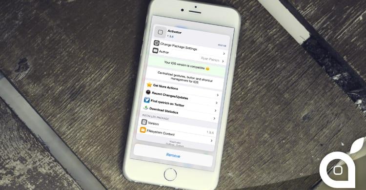 Tactful, il tweak che aggiunge il supporto al 3D Touch all'interno di Cydia