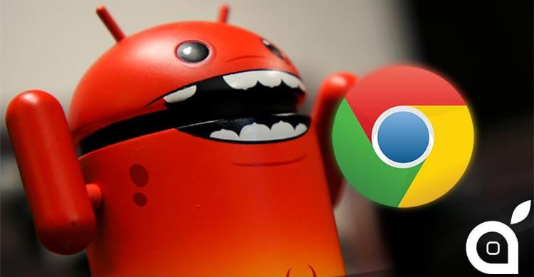 Scoperta una nuova grave vulnerabilità in Android che colpisce tramite Chrome