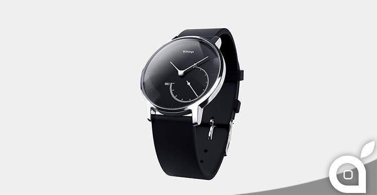 Withing presenta il nuovo orologio intelligente Activité Steel