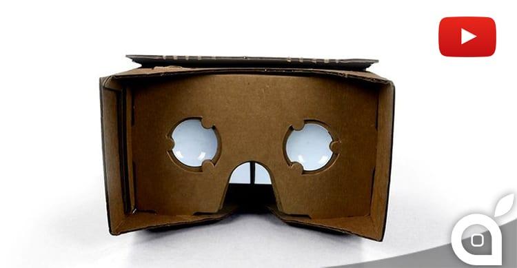 youtube realtà virtuale