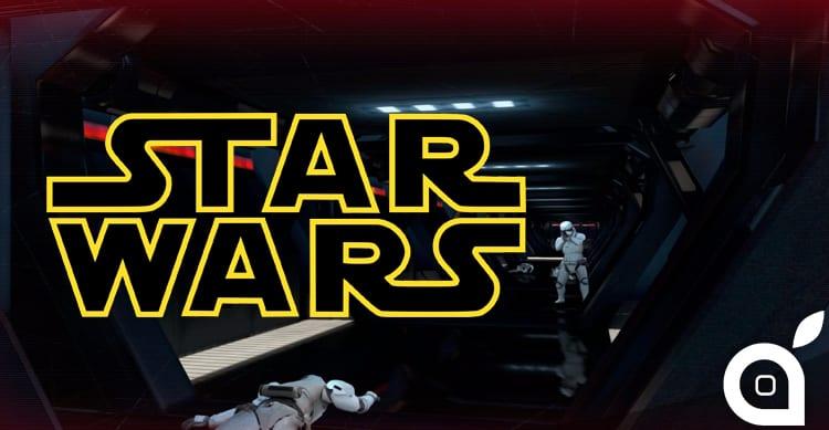 Star Wars: il bellissimo gioco di Google trasforma il vostro iPhone in una spada laser