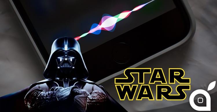 """""""Io sono tuo padre"""": Siri risponde come se fosse Dart Fener in Star Wars Episodio V"""