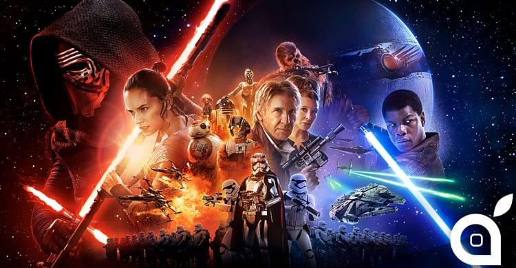 Scaricate numerosi wallpaper per il vostro iPhone dedicati a Star Wars VII: Il risveglio della forza