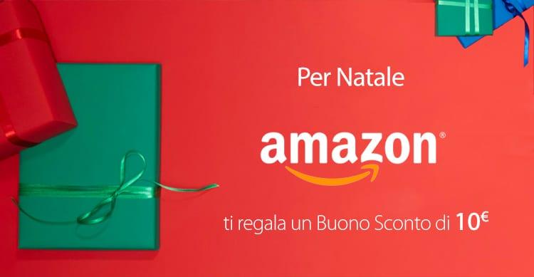 e93e8fb45ad0f4 Amazon offre un buono sconto di 10€, ottimo per i Regali di Natale ...