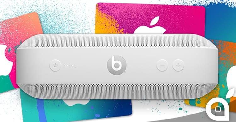 Promozione Apple: in USA se acquisti cuffie o speaker Beats ricevi iTunes Card da 60$