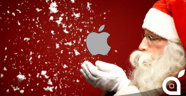 apple domina il natale