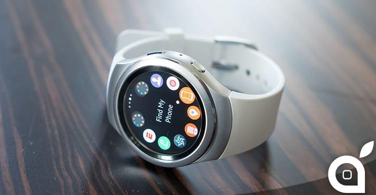 Samsung sta lavorando ad una companion app del Gear S2 per iPhone