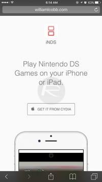 iNDS-website