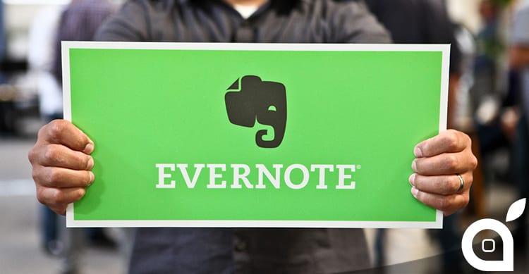 Evernote abbandona tre servizi