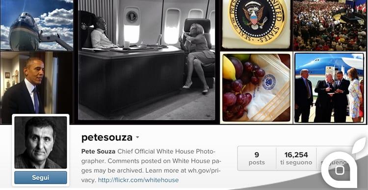 Il fotografo ufficiale della Casa Bianca utilizza iPhone per ritrarre il presidente