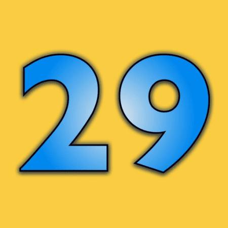 29, non è semplice avere a che fare con questo numero | QuickApp