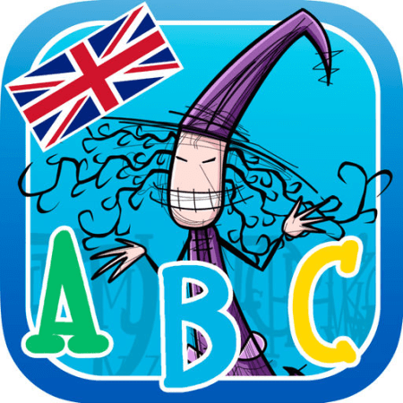 Learn the Alphabet with Naailde the Witch, imparare è divertente | QuickApp
