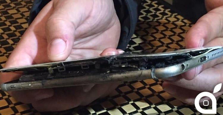 iphone prende fuoco