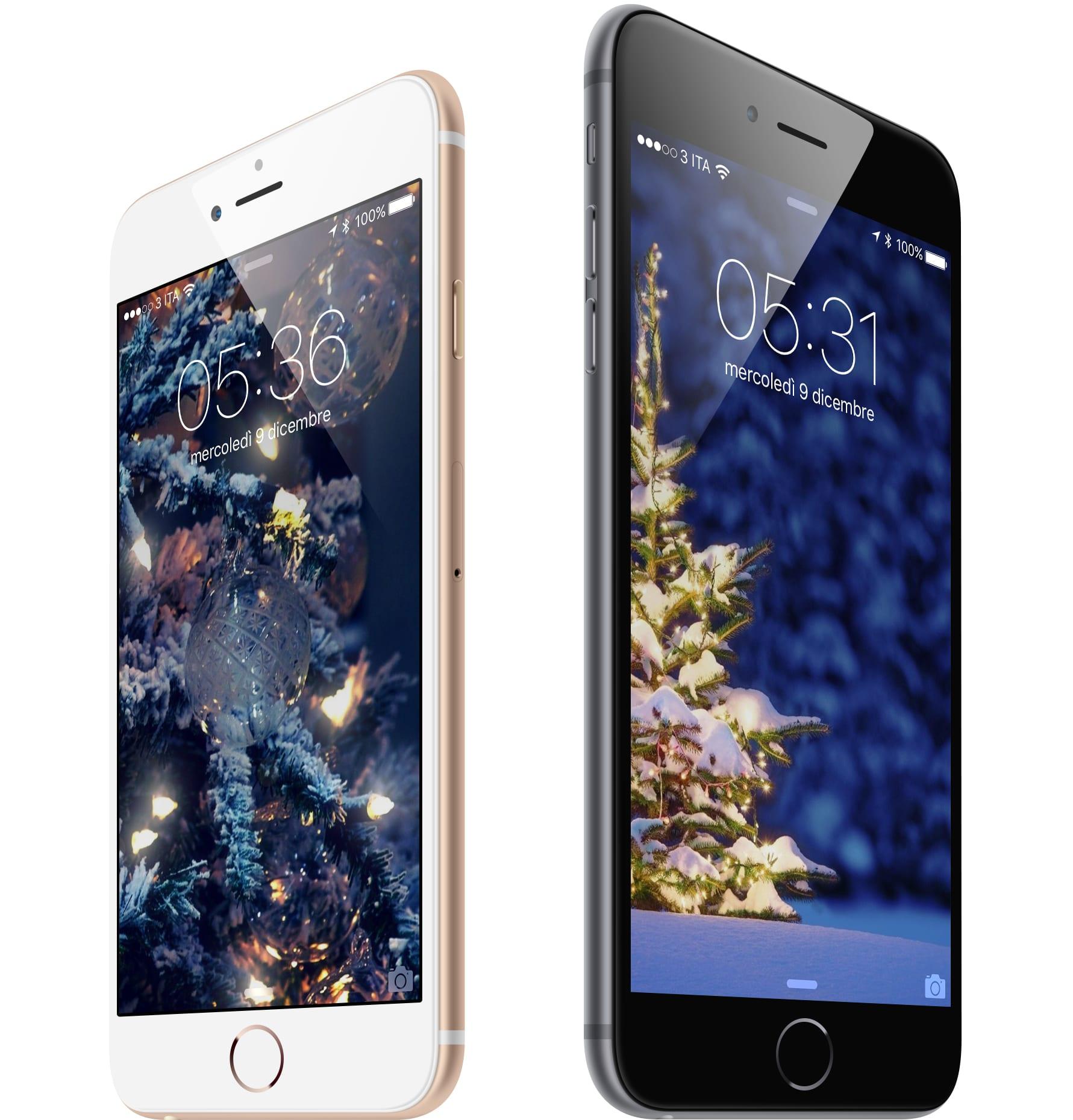 #WallpaperSelection #98: Scarica Gratis 5 Sfondi Natalizi di iSpazio per il tuo iPhone ed iPad [DOWNLOAD]