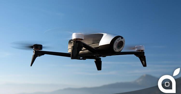 Parrot presenta Bebop 2, il drone all-in-one con action camera ed un'autonomia di 25 minuti