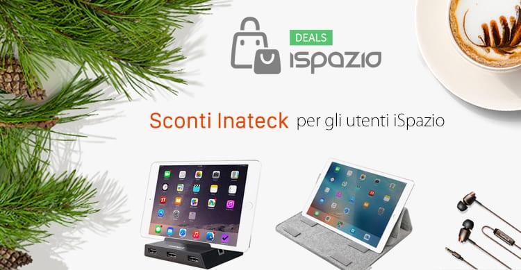 Fai il pieno di accessori Inateck in sconto su Amazon per gli utenti iSpazio: custodie, cuffie, caricabatterie etc