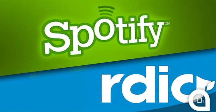 spotify rdio