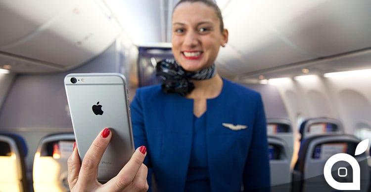united airlines iphone 6 plus