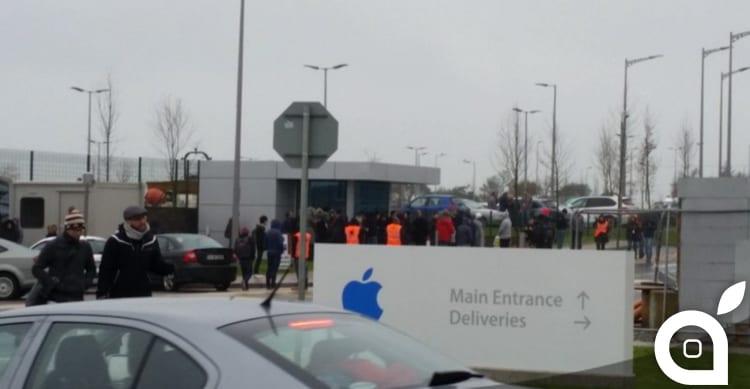 Allarme bomba: evacuati gli uffici Apple in Irlanda [AGGIORNATO]