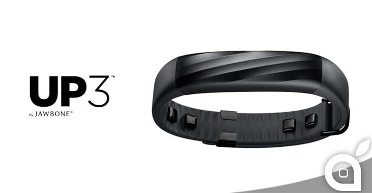 Jawbone UP3: la fitness band per monitorare la vostra attività fisica, alimentazione e sonno