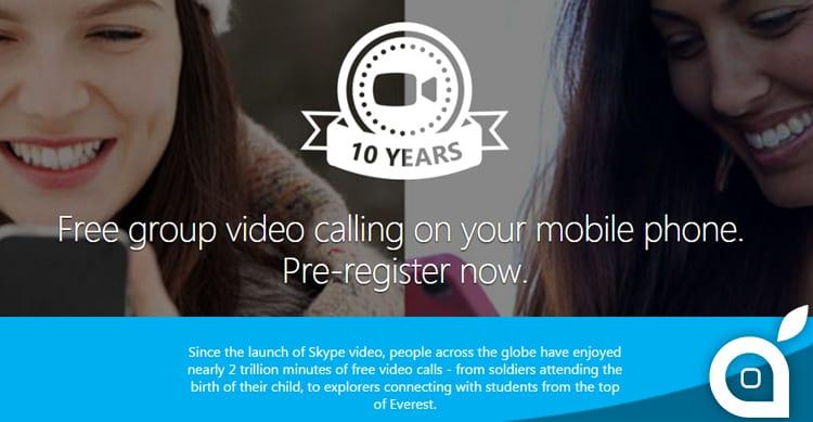 Skype: presto arriveranno le videochiamate di gruppo anche per iOS [Video]