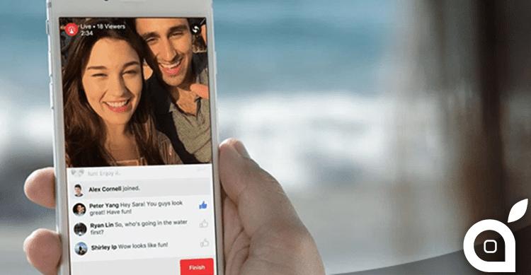 "Facebook Live: disponibili nuove funzionalità per ""le dirette"" di Facebook [Video]"
