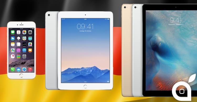 A partire da quest'anno in Germania gli iPhone costeranno di più