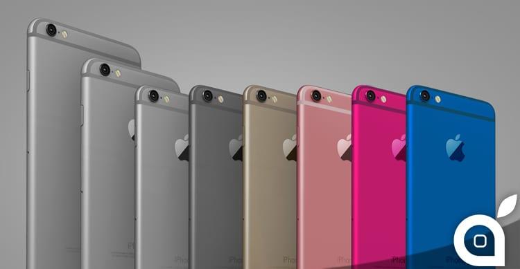 Nuova immagine dell'iPhone 5se con un design simile agli iPhone 6s