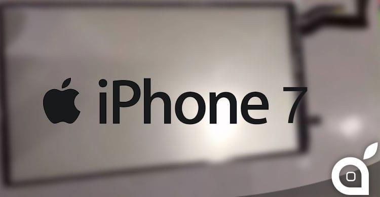 pannello retroilluminazione iPhone 7
