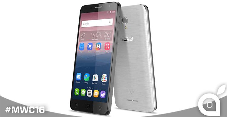 Alcatel lancia la serie POP 4,  la gamma di smartphone su misura per i millennials   MWC 2016