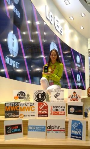 LG Awards at MWC 01