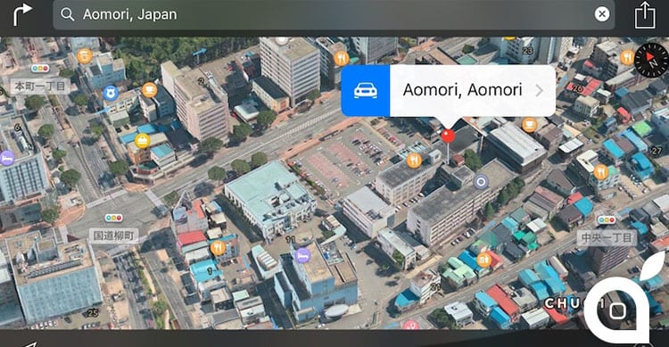 Apple aggiunge il supporto a Flyover per 23 nuove location