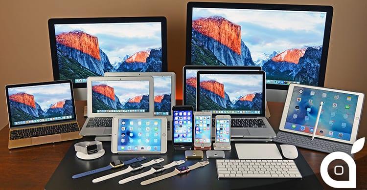 Disponibili anche watchOS 2.2.1, tvOS 9.2.1 e Mac OS X 10.11.5 El Capitan per tutti gli utenti