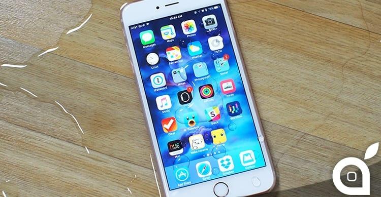 iPhone Acqua