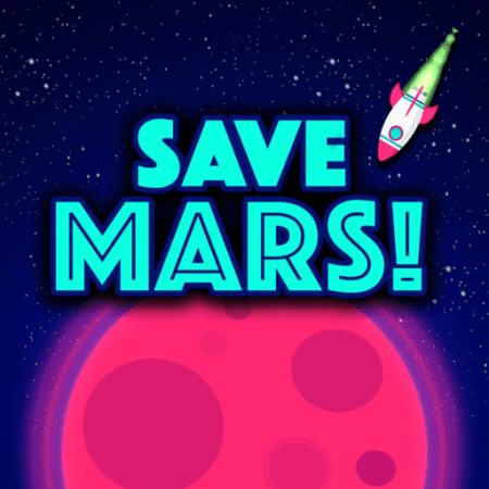 Save Mars! divertentissimo gioco per iPhone creato da Fulvio Scichilone, alunno del Corso iOS Base di Objective Code