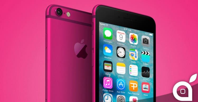 iPhone 5se sarà disponibile anche nella colorazione Bright Pink | Rumor